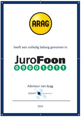 Jurofoon verkocht aan ARAG
